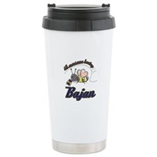 Awesome Being Bajan Stainless Steel Travel Mug