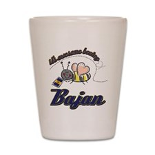Awesome Being Bajan Shot Glass