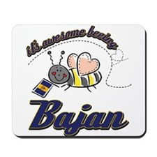 Awesome Being Bajan Mousepad