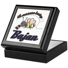 Awesome Being Bajan Keepsake Box