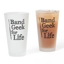 Flute Band Geek Pint Glass