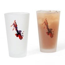 Paint Splat Saxophone Pint Glass