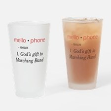 Definition of Mellophone Pint Glass