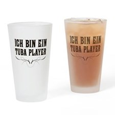 Ich Bin Ein Tuba Player Pint Glass