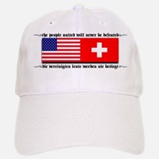 USA - Switzerland Baseball Baseball Cap