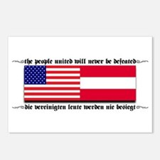 USA - Austria Postcards (Package of 8)