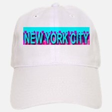 New York City Skyline Baseball Baseball Cap