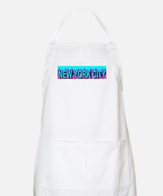 New York City Skyline BBQ Apron