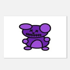 Zombie Teddy Bear Postcards (Package of 8)