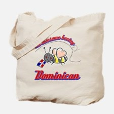 Awesome Being Dominican Republic Tote Bag
