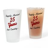 Anniversary Pint Glasses
