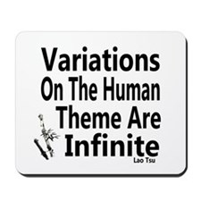 Variations On Humanness Mousepad