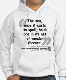 Cousteau Sea Quote Hoodie