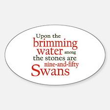 Yeats Wild Swans Decal