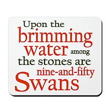 Yeats Wild Swans Mousepad
