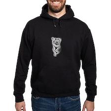 Koala Black Hoodie