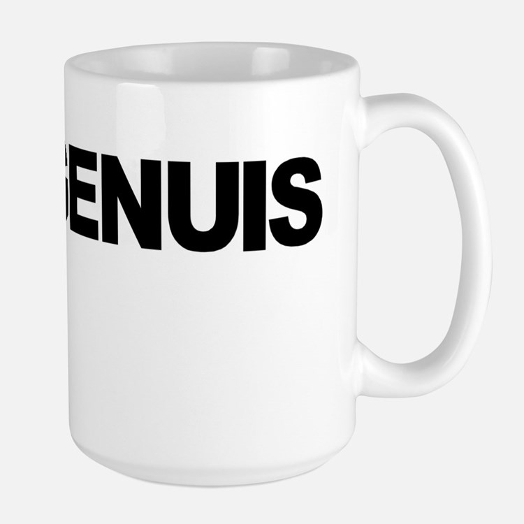Genuis Shirt Mug