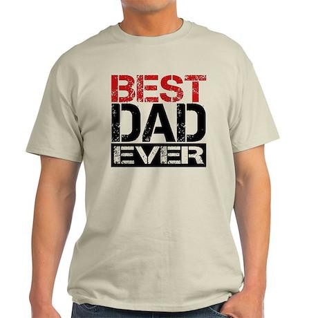Best Dad Light T-Shirt