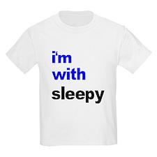I'm With Sleepy T-Shirt