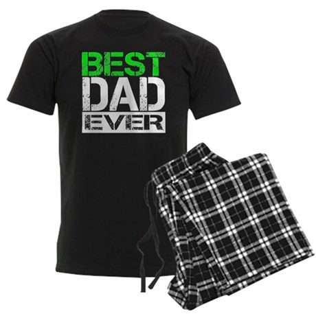 Best Dad Men's Dark Pajamas