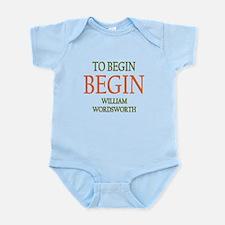 To Begin Infant Bodysuit