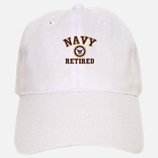 USN Navy Retired Baseball Baseball Cap