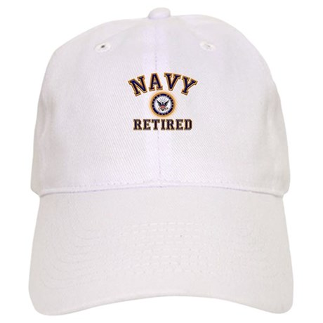 USN Navy Retired Cap