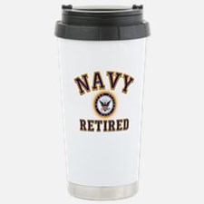 USN Navy Retired Travel Mug