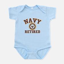 USN Navy Retired Infant Bodysuit