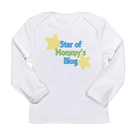 Star of Mommy's Blog Long Sleeve Infant T-Shirt