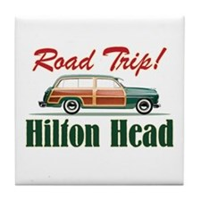 Hilton Head Road Trip - Tile Coaster