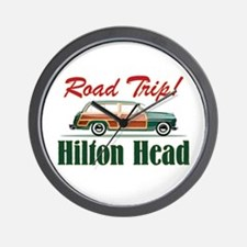 Hilton Head Road Trip - Wall Clock