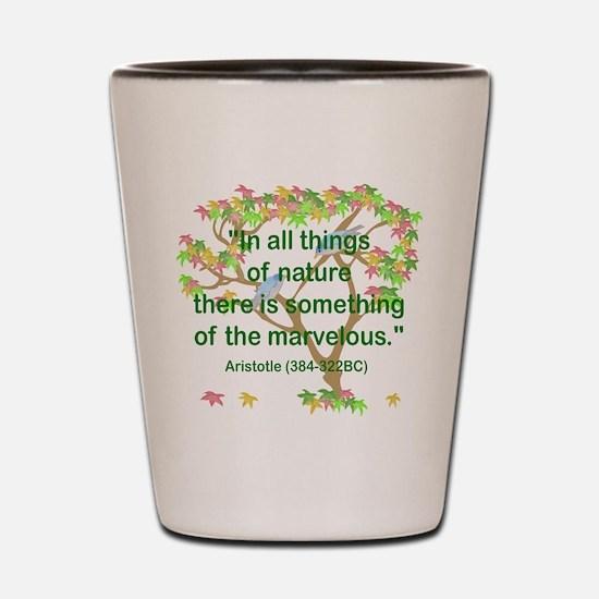 Aristotle Nature Shot Glass