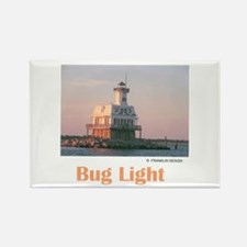 Bug Light Rectangle Magnet