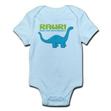RAWR means I love you in Dino Infant Bodysuit