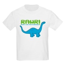 RAWR means I love you in Dino T-Shirt