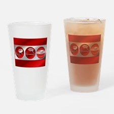 Bad to Good Pint Glass