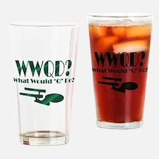 WWQD? Pint Glass