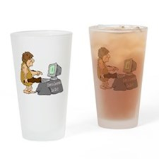 Caveman Pint Glass