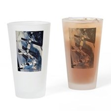 International Space Station Pint Glass