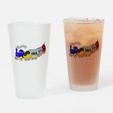 Choo Choo Train Pint Glass
