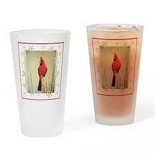 Cardinal Pint Glass