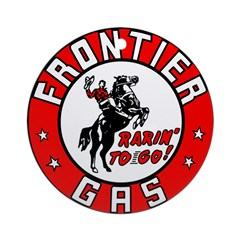 Frontier Gas Ornament (Round)