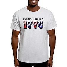 Party Like It's 1776 Light T-Shirt