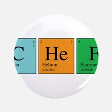 "Chemist Chef 3.5"" Button"