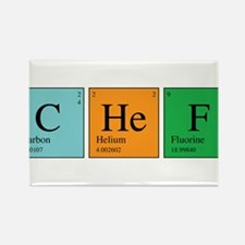 Chemist Chef Rectangle Magnet (100 pack)