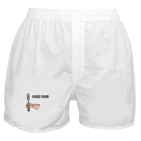 Fork You Boxer Shorts