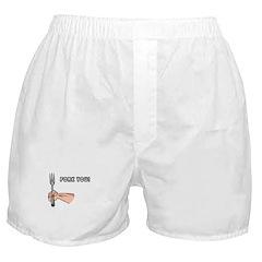 Fork You Boxer Shorts