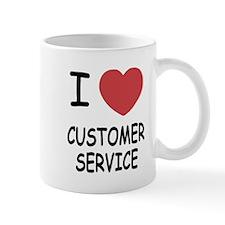 I heart customer service Mug
