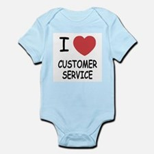 I heart customer service Infant Bodysuit
